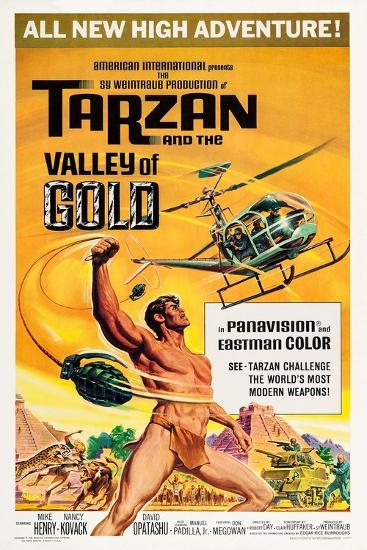 Tarzan and the Valley of Gold--Art Print