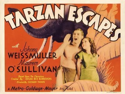 Tarzan Escapes, 1936--Art Print