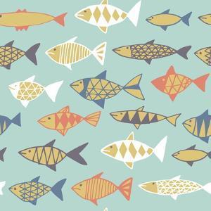 Fishes Decorative by Tasiania