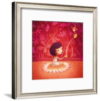 Tasse de Thé-Anne-marie Hugot-Framed Art Print