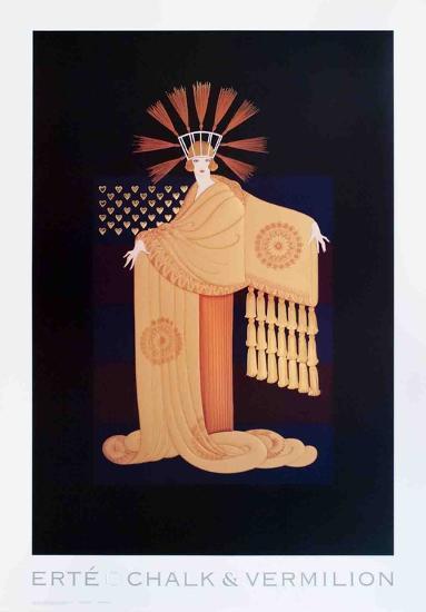 Tassel Gown-Erte-Collectable Print