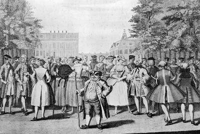 Taste a La Mode in the Year 1735: Being the Contrast to the Year 1745-Evan Davis-Giclee Print