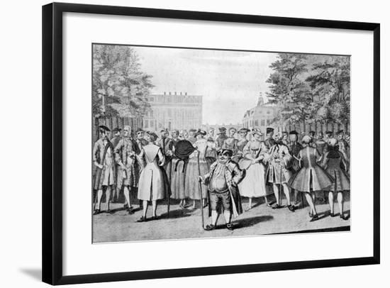 Taste a La Mode in the Year 1735: Being the Contrast to the Year 1745-Evan Davis-Framed Giclee Print