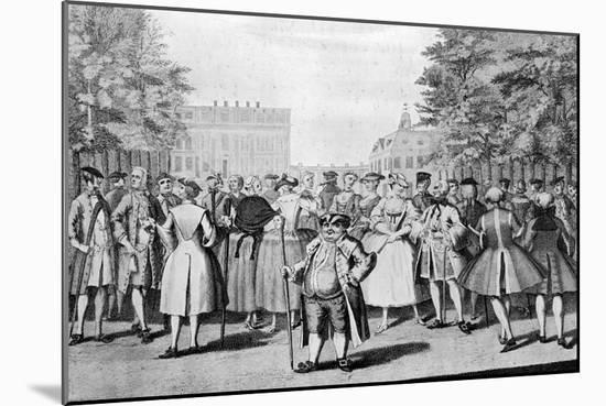 Taste a La Mode in the Year 1735: Being the Contrast to the Year 1745-Evan Davis-Mounted Giclee Print