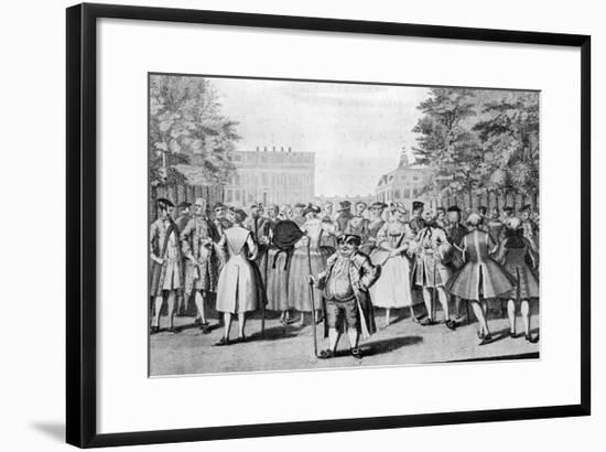 Taste a La Mode in the Year 1735: Being the Contrast to the Year 1745-Evan Davis-Framed Premium Giclee Print