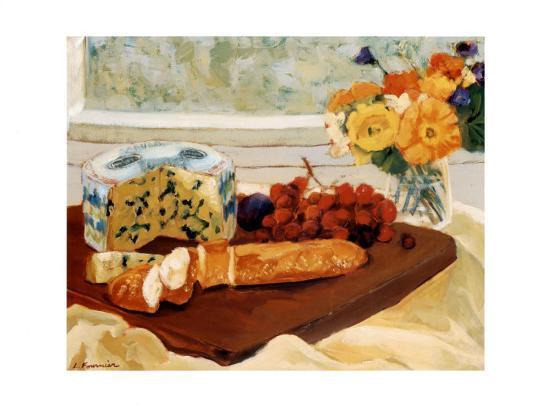 Tasting-Liliane Fournier-Art Print