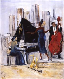Jazz Band by Tat Vil
