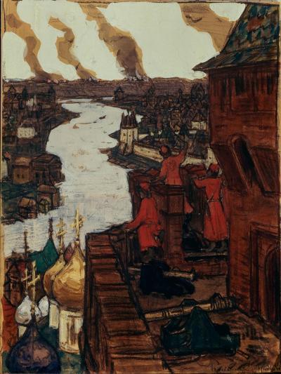 Tatars are Coming! End of XIVth Century, 1909-Appolinari Mikhaylovich Vasnetsov-Giclee Print