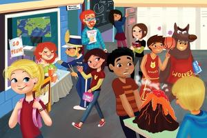 Back to School - Jack & Jill by Tatevik Avakyan