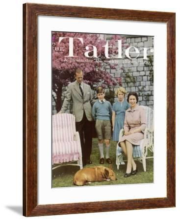 Tatler Cover: Queen Elizabeth II and Her Family--Framed Photographic Print