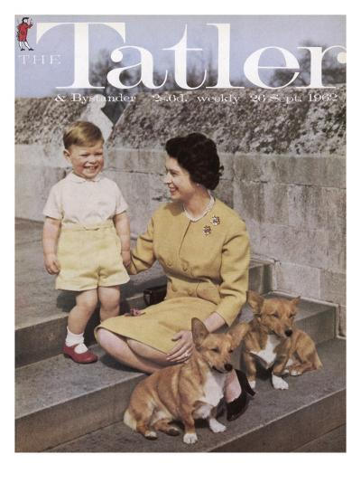 Tatler Front Cover: Queen Elizabeth Ii and Prince Andrew--Giclee Print