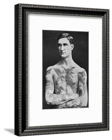Tattooed Masterpiece by Mr. Sutherland Macdonald of Jermyn St--Framed Giclee Print