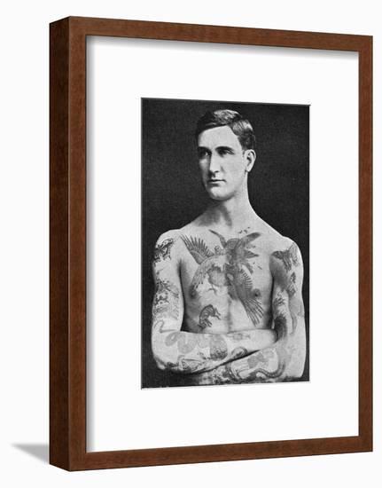 Tattooed Masterpiece by Mr. Sutherland Macdonald of Jermyn St--Framed Giclee Print