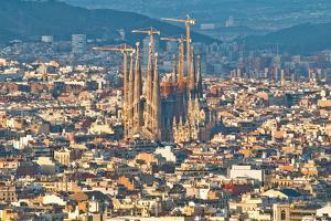 Sagrada Familia by Tatyana Kildisheva