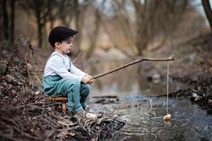 Fisherman by Tatyana Tomsickova