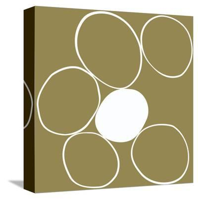 Taupe II-Denise Duplock-Stretched Canvas Print