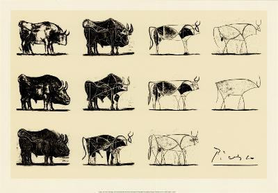 Taureau-Pablo Picasso-Serigraph