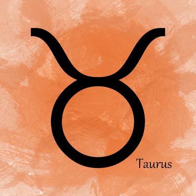 Taurus - Orange-Veruca Salt-Art Print