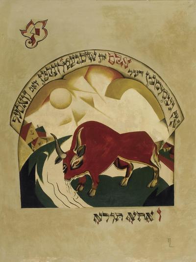 Taurus-El Lissitzky-Giclee Print