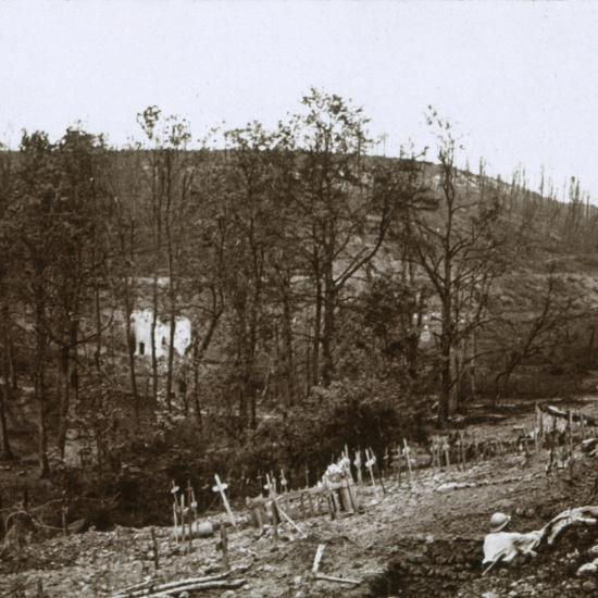 Tavannes Fort, Verdun, northern France, c1914-c1918-Unknown-Photographic Print
