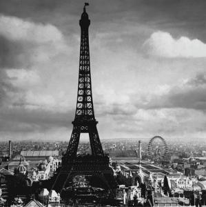 The Eiffel Tower, Paris, France, c.1897 by Tavin