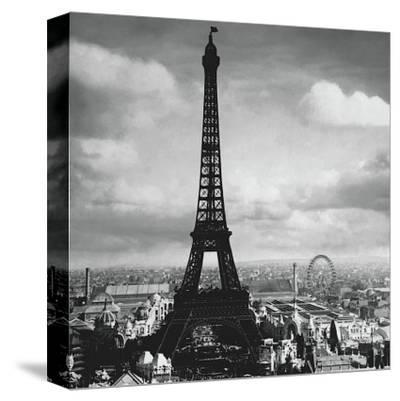 The Eiffel Tower, Paris France, c.1897