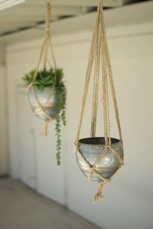 Tavira Hanging Planter Pair