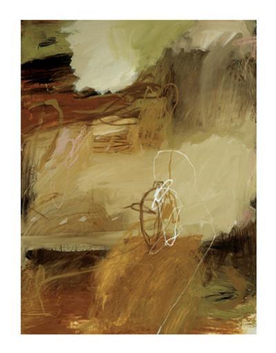 Tawny Grass Bird I-Wade Owen-Giclee Print