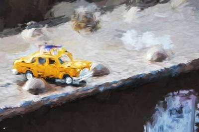 Taxi Bridge - In the Style of Oil Painting-Philippe Hugonnard-Giclee Print