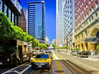 Taxi Cabs - Downtown - San Francisco - Californie - United States-Philippe Hugonnard-Photographic Print