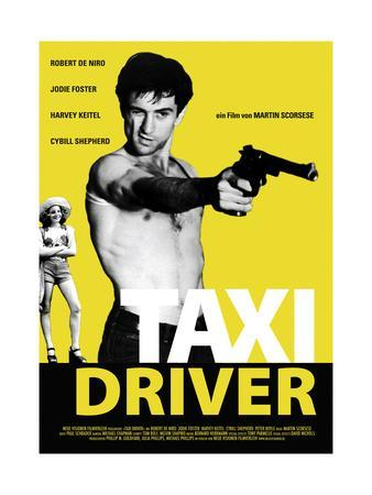 ROBERT DE NIRO TAXI DRIVER COLOR POSTER PRINT BY TAXI
