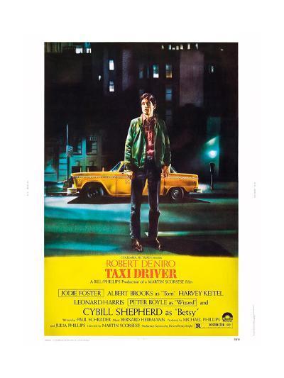 Taxi Driver, Robert De Niro, 1976--Giclee Print