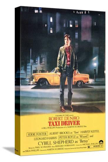 Taxi Driver--Stretched Canvas Print