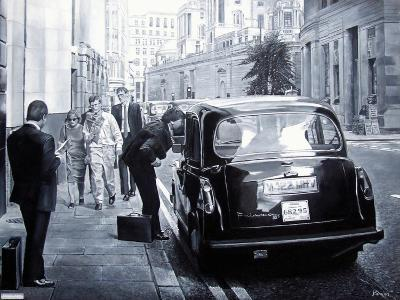 Taxi Hire, 2008-Kevin Parrish-Giclee Print