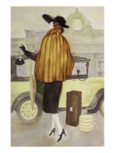 Taxi Lady-Graham Reynold-Art Print