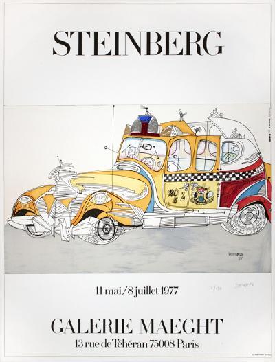 Taxi-Saul Steinberg-Premium Edition