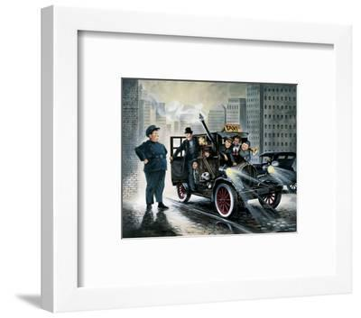 Taxi-Renate Holzner-Framed Art Print