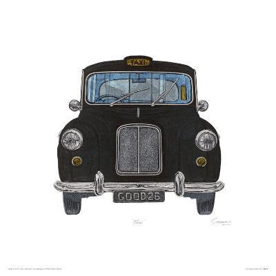 Taxi-Barry Goodman-Giclee Print