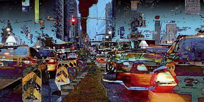 Taxis-C?dric Bouteiller-Art Print