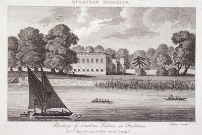 Fulham Palace, Fulham, London, 1788