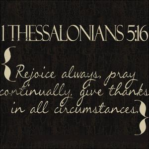 1 Thessalonians 5-16 by Taylor Greene