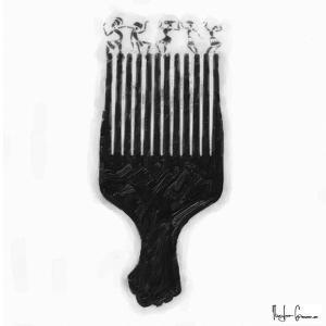Afro Pick by Taylor Greene