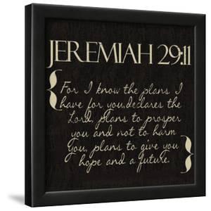 Jeremiah 29-11 by Taylor Greene