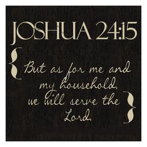 Joshua 24-15 by Taylor Greene