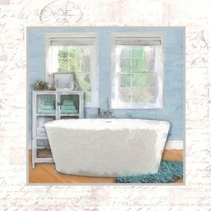 Modern Bath II by Taylor Greene