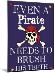 Pirate Must Brush by Taylor Greene