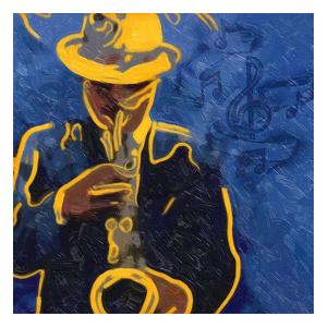 Sax Blues by Taylor Greene