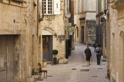 A Back Street in the Village of Uzes by Taylor S^ Kennedy