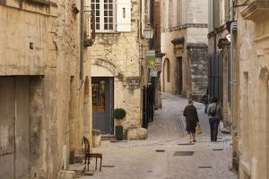 A Back Street in the Village of Uzes by Taylor S. Kennedy