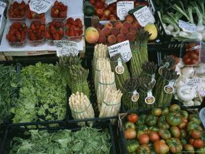A Farmer's Market Selling Vegetables in Venice, Italy by Taylor S. Kennedy